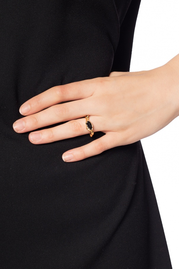 Encrusted ring od Marni
